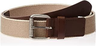 Timberland Men's Canvas Belt, Medium - Gold