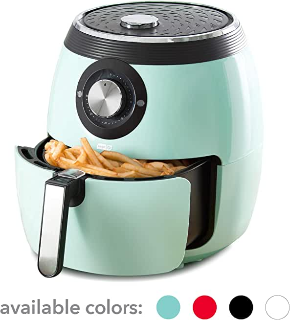 Dash (DFAF455GBAQ01) 6 Qt Deluxe Electric Air Fryer + Oven Cooker