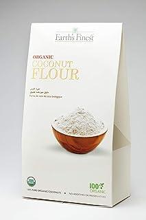 Earth`s Finest Organic Coconut Flour - 500 gm