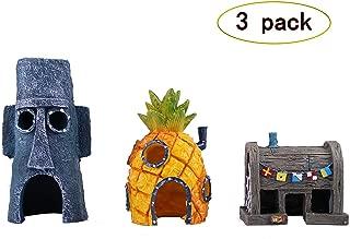 TEEMO Spongebob Aquarium Decoration Value Pack