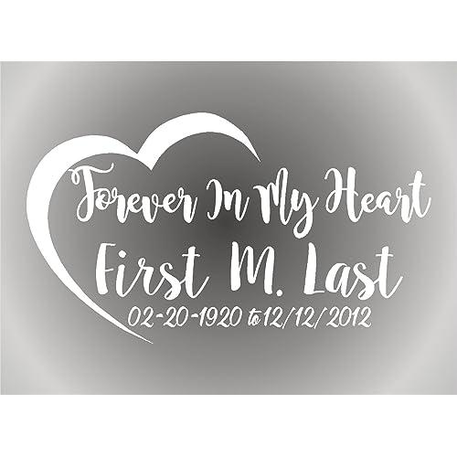 In Loving Memory Car Decals >> In Loving Memory Car Decals Amazon Com