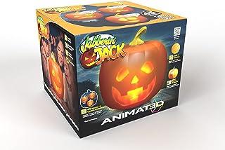 Mindscope Jabberin Jack Talking Animated Pumpkin with Built in Projector & Speaker Plug'n Play
