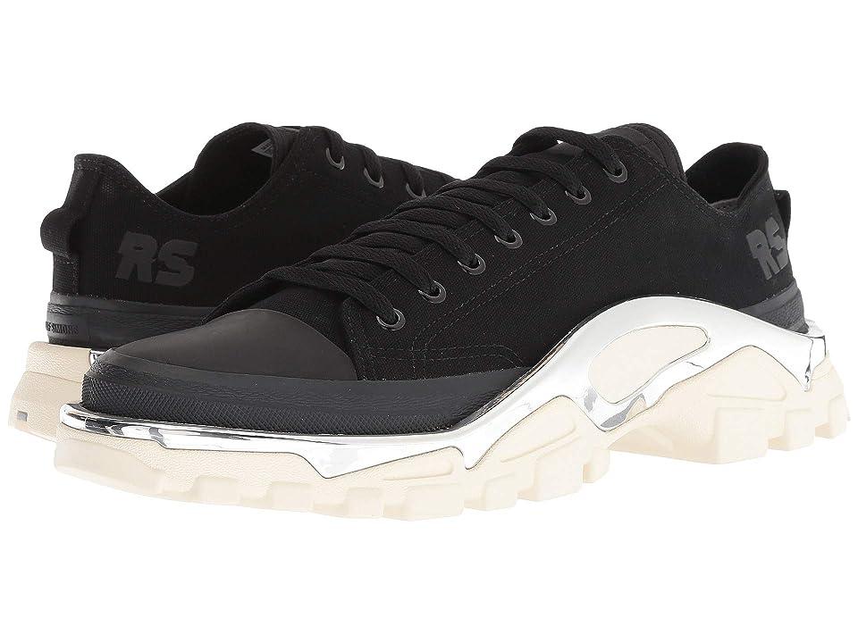 Image of adidas by Raf Simons Raf Simons Detroit Runner (Core Black/Core Black/Cream White) Athletic Shoes