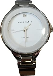 Anne Klein Diamond Accent Gold-tone Bracelet Watch AK/2307WTSV