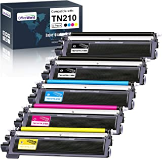 OfficeWorld Compatible Toner Cartridge Replacement for Brother TN210 TN-210 for Brother HL-3040CN HL-3070CW HL-3075CW MFC-...