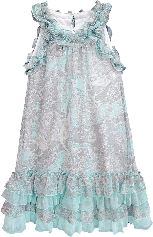 Isobella & Chloe Toddler-Little-Big Girls Printed Chiffon Shift Dress