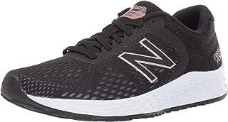 New Balance Women's Arishi Fresh Foam V2 Running Shoe, Black/Rose Gold