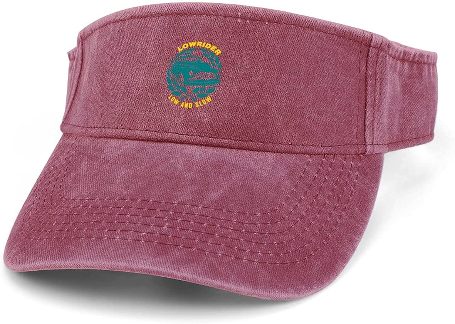 Lowrider Low and Slow Max 66% OFF Women Adjustable Outstanding Clip Wide Visor Brim S On