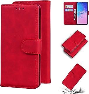 LODROC Lederen Portemonnee Case voor Galaxy A91/S10 Lite/M80S, [Kickstand Feature] PU Lederen Portemonnee Case Flip Folio ...