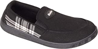 BATA Men Black Slip On Canvas Sneakers