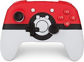 PowerA Enhanced Wireless Controller for Nintendo Switch: Pokemon Poke Ball Red - Nintendo Switch