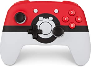 PowerA Enhanced Wireless Controller for Nintendo Switch: Pokemon Poke Ball Red - Nintendo Switch