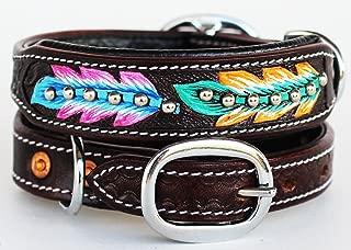 PRORIDER XSmall 9''- 13'' Rhinestone Dog Puppy Collar Crystal Cow Leather 6019