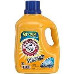 ARM & HAMMER Clean Burst HE Liquid Laundry Detergent, 150 fl oz