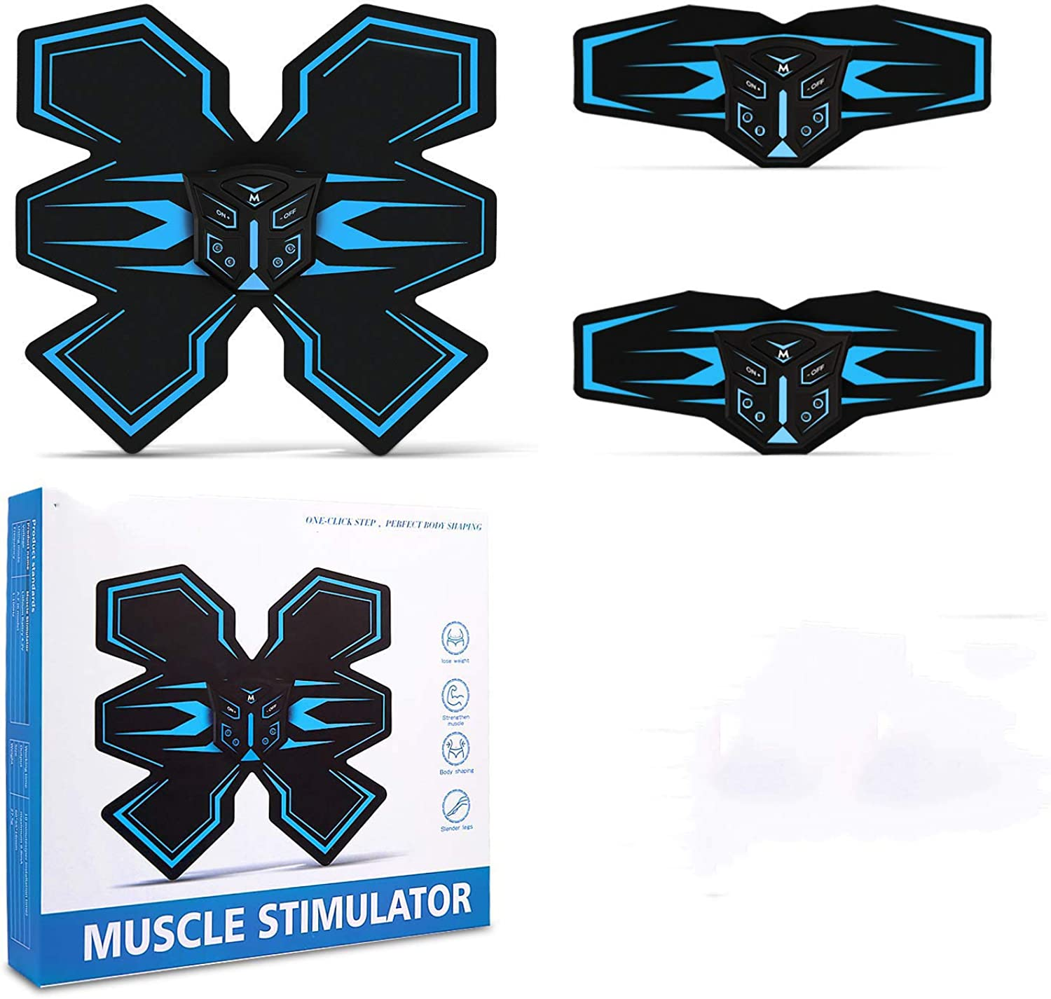 Muscle Toner, Abdominal Muscle Toner, Abs Muscle Stimulator, Abs Trainer, Abs Stimulator Muscle Toner, Abs Stimulator, Abs Stimulator for Men Women, Abs Stimulator Muscle Trainer