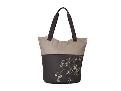 Haiku Paradise Tote (Rainier) Tote Handbags