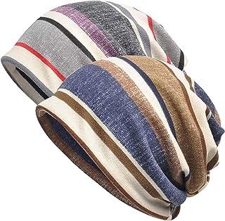 Chemo Beanies - Womens Cotton Beanie Chemo Hat Lace Turban Soft Stretch Sleep Cap Hats Fashion Slouchy Beanie