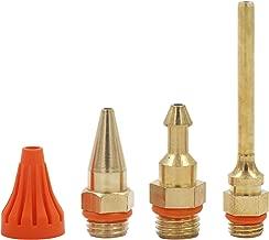 Anyyion Glue Gun Nozzle Interchangeable Nozzle Parts 4pcs/set Nozzle Diameter 2.0mm