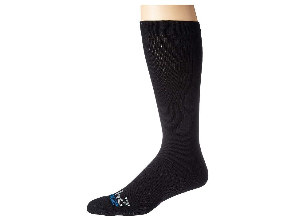 Image of 2XU 24/7 Compression Socks (Black/Black) Knee High Socks Shoes