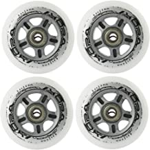 Inline wieltjes, voor recreatief skating PU 84mm/82A 4 st. + lager ABEC7 CHROME 8 st. Nils