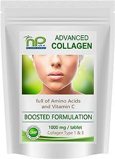 Colágeno avanzado 1000 mg + Aminoácidos + Vitamina C Comprimidos