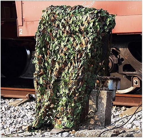 Filet de camouflage boisland, filet décoratif de camouflage, filet de prougeection solaire crypté, adapté à la verdure et à la chasse au parasol décorative dans la jungle, disponible en différentes tail