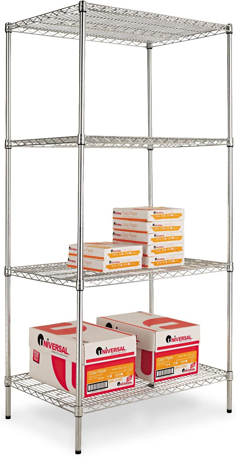 ALESW503624SR Max 62% OFF - Industrial Heavy Duty Wire Shelving Starter Recommended Kit