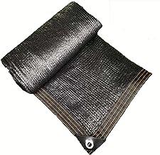 LIXIONG Sunblock schaduwdoek, zwart 80% schaduwsnelheid, anti-UV-verdikking zonnenet voor terras, tuin, balkon zonnetje, m...