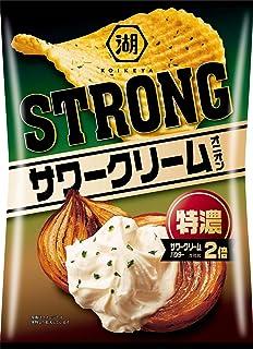 湖池屋 KOIKEYA STRONGポテトチップス特濃サワークリームオニオン 85g ×12袋