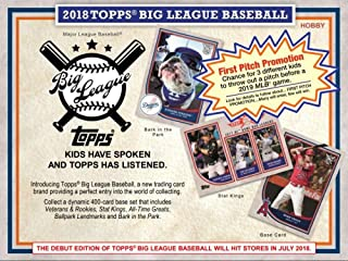 2018 topps big league hobby box