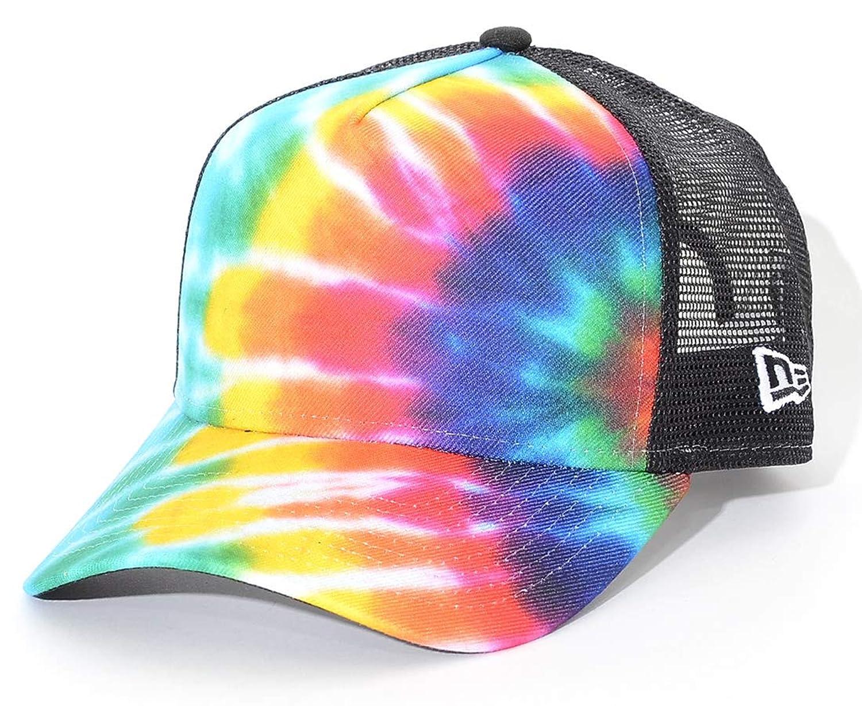 NEW ERA ニューエラ メッシュキャップ 帽子 スナップバック タイダイ柄 (11901249) O/S TDPRINT-BLK