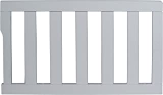 Dream On Me Universal Convertible Crib Toddler Guard Rail, Steel Grey