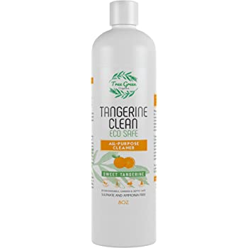 100% Organic All Purpose Cleaner Concentrate by True Green Organics (Tangerine, 8 Ounce)
