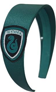 Harry Potter Headbands Women Girls Hogwarts Houses Ravenclaw Hufflepuff Gryffindor Slytherin (Slytherin)