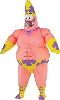 Rubie's Men's Spongebob Movie Inflatable Patrick Star Costume, Multi, Standard