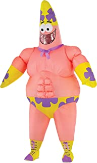 Inflatable Mr Superawesomeness Patrick Costume for Adults
