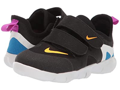 Nike Kids Free RN 5.0 (Infant/Toddler) (Black/Laser Orange/Blue Hero) Kids Shoes
