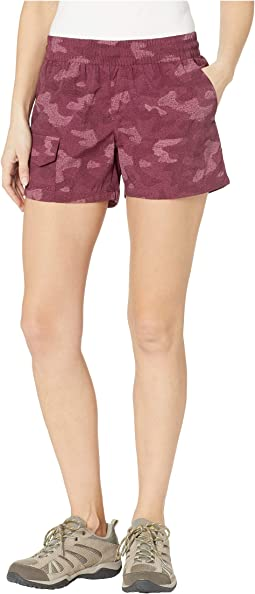 Silver Ridge Printed Pull-On Shorts