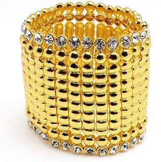 Amrita Singh Women's Jackie Stretch Cuff Bracelet, 2.5 inches