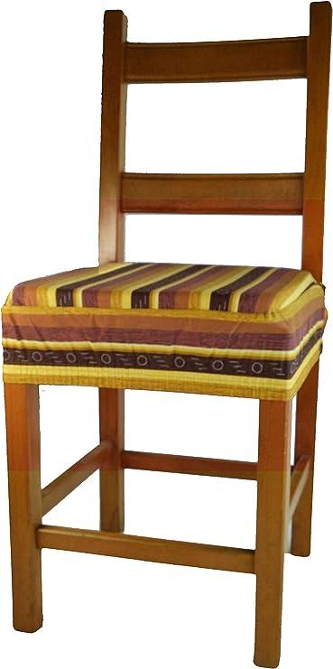 Arancio Colorado Cuscino coprisedia con Fascia Elastica
