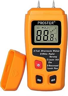 Proster Handheld Wood Moisture Test Meter LCD Moisture Tester for Wood Moisture Detector..