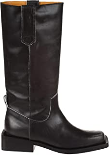 GANNI Luxury Fashion Womens S1000BLACK099 Black Boots | Fall Winter 19