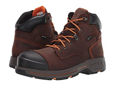 Timberland PRO Helix HD 6 Soft Toe Waterproof (Brown) Men