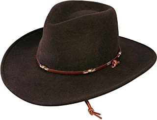 Stetson Mens Wildwood Crushable Hat