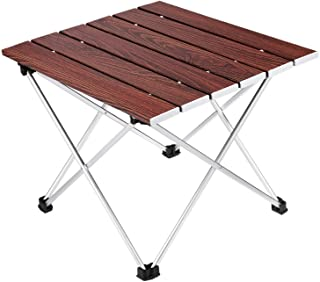 Best woods camping table Reviews