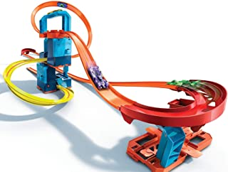 Hot Wheels Track Builder Unlimited Ultra Stackable Booster Kit Motorized Set 5 Plus Configurations Stunt Parts Compatible ...