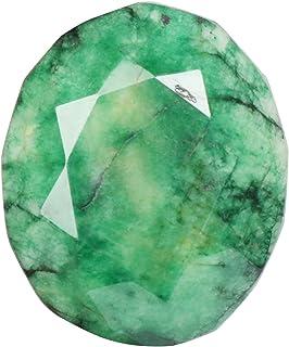 Real Gems Piedra Preciosa Esmeralda Verde Natural con certificación EGL, Forma Ovalada 349,00 Quilates Piedra Preciosa Esm...