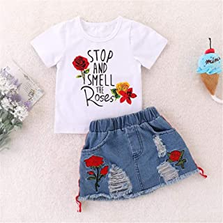 14f6347e8 Amazon.ca  White - Jumpsuits   Rompers   Girls  Clothing   Accessories