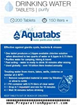 chlorine tablets for water tanks