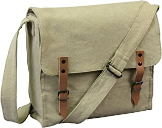 Vintage Canvas Medic Bag/No Imprint-Khaki
